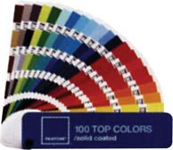 100 TOP COLORS/solid coated
